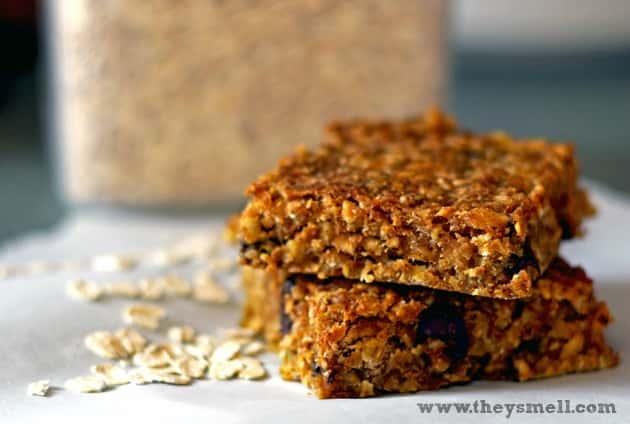 Gluten-Free pumpkin oatmeal bars