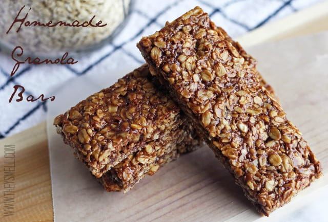 chocolate peanut butter granola bar