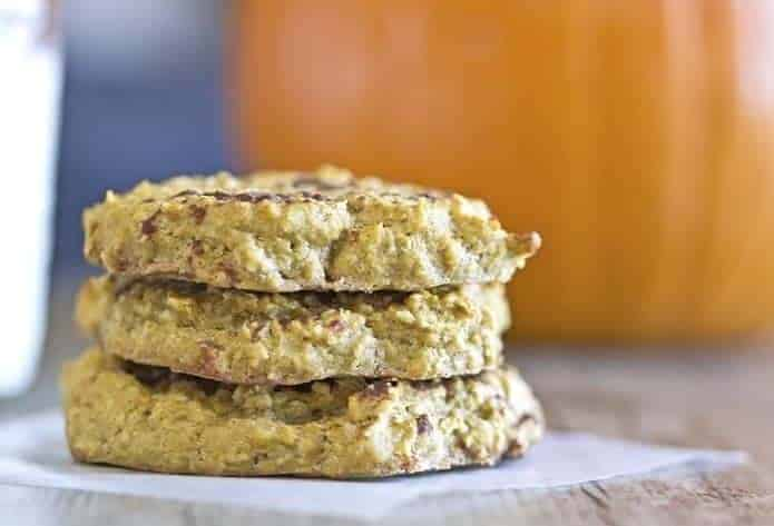 Gluten Free, No Sugar, Low Carb Pumpkin Cookies