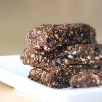 homemade granola bar 1