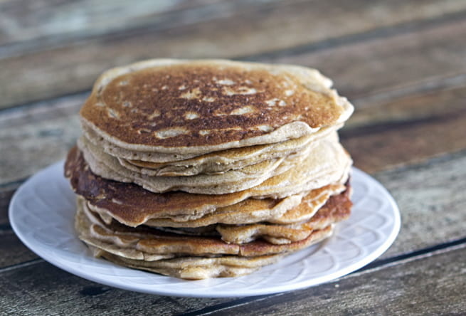 Grain-Free Pancakes with maple & cinnamon
