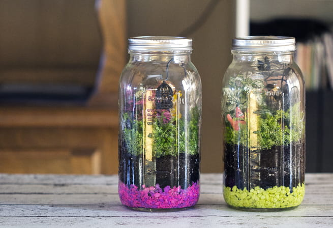 how to get smells out of glass jars
