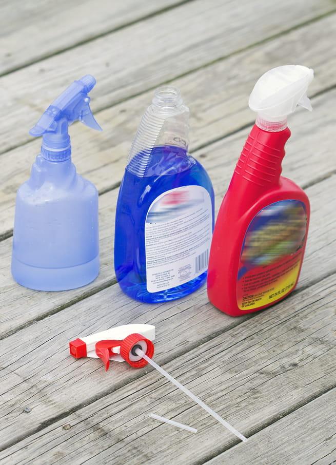 homemade spray bottle