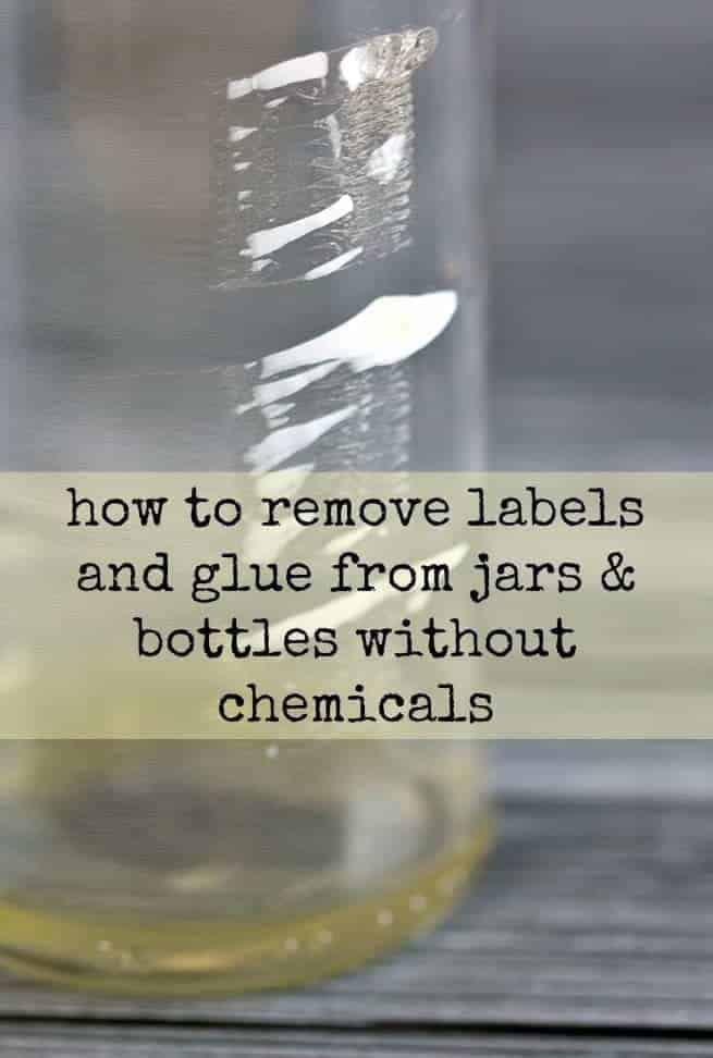 how to remove labels and glue from jars bottles without chemicals 730 sage street. Black Bedroom Furniture Sets. Home Design Ideas