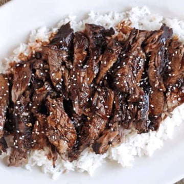 Slow Cooker Sticky Asian Lamb 1