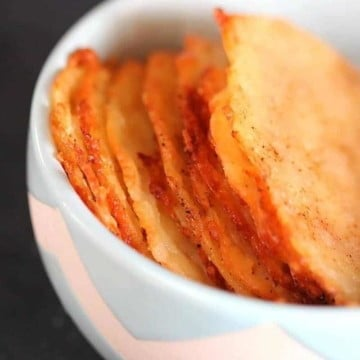 low carb cheese crisps 1