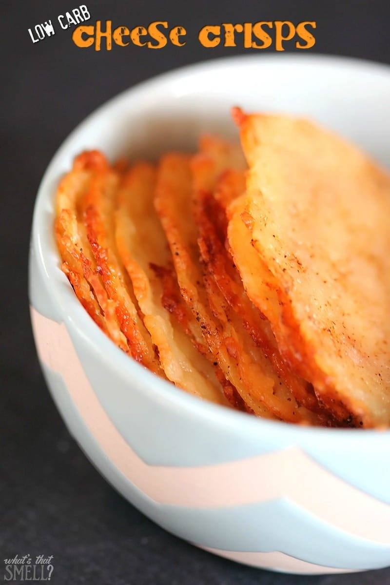 low carb cheese chips