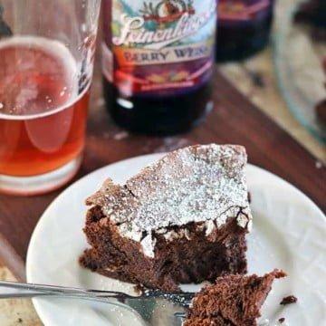 flourless chocolatr cake bite 1