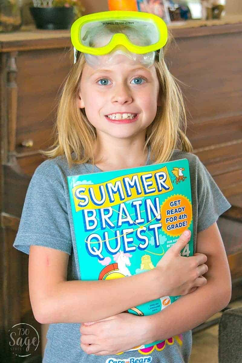 Help prevent summer slide with a brand new series from Workman Publishing called Summer Brain Quest - engaging workbooks for kindergarten thru sixth grade.