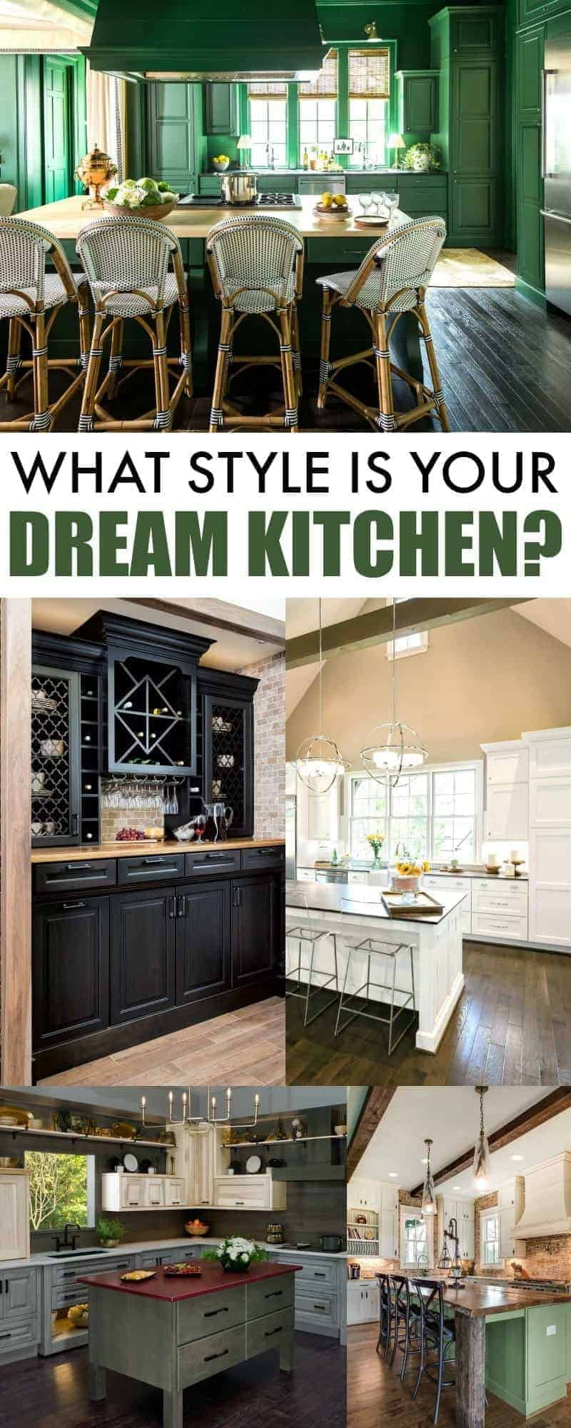 What Style is Your Dream Kitchen? Enter the Wellborn Cabinet Dream Kitchen Giveaway for a chance to win $12,000 towards your dream kitchen!