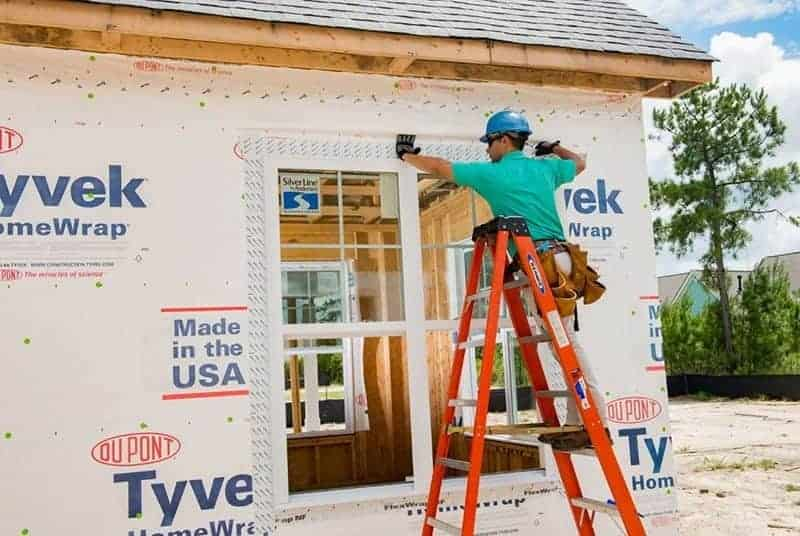 DuPont Tyvek Homewrap can help you keep your home healthy by protecting you from mold, mildew and other issues related to moisture and weather. Don't live without it!