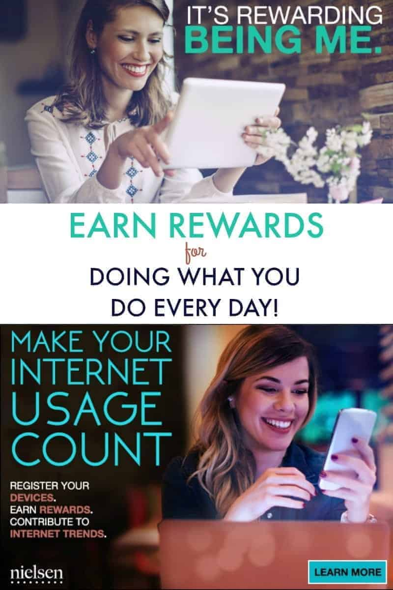The Nielsen Computer and Mobile Panel is a panel of people just like you who earn rewards for providing valuable insight into the way they use the internet. Join now, it's FREE!