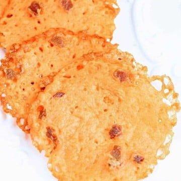 bacon cheese crisps