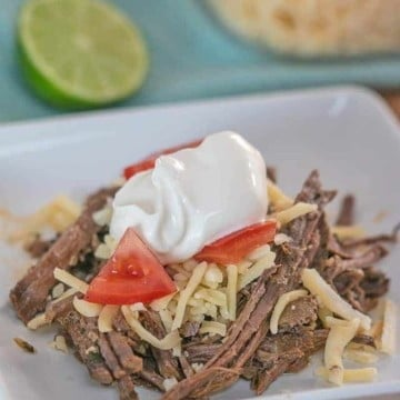 low carb chili lime shredded beef barbacoa