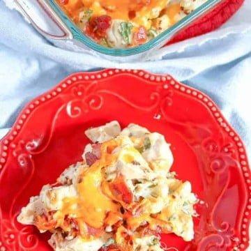 cauliflower chicken bake low carb