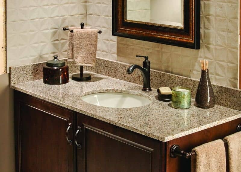 Remodeling your bathroom is easier than you think with A'Vant Vanity Surfaces! Check out these 5 simple steps to revitalize your bathroom for inspiration!