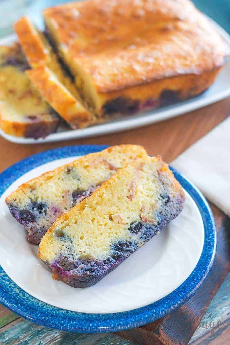 Treat yourself to a delicious keto treat with this low carb maple bacon blueberry bread sweetened with stevia & flavored with maple extract. This is a fantastic low carb treat for breakfast or as a snack or dessert. It will satisfy your craving for a sweet treat for sure!