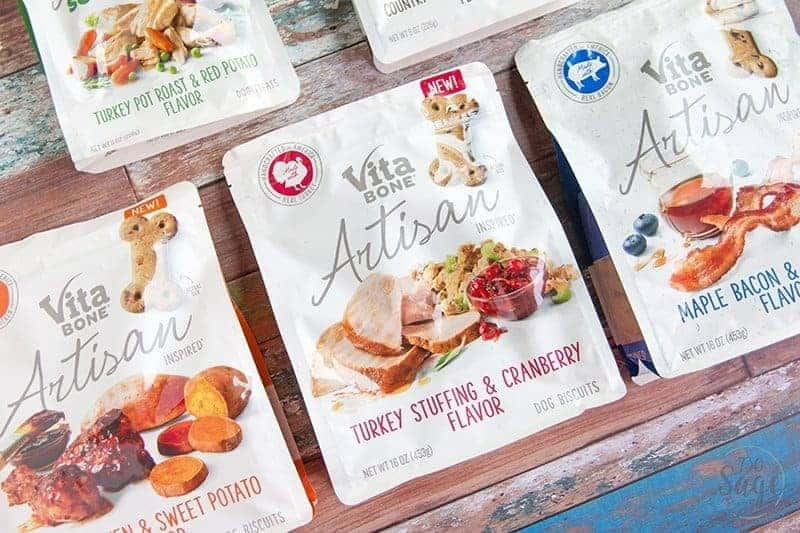 Treat your dog to the flavor and aroma of real food with flavors inspired by your favorite people food with Vita Bone® Artisan Inspired® Dog Treats.