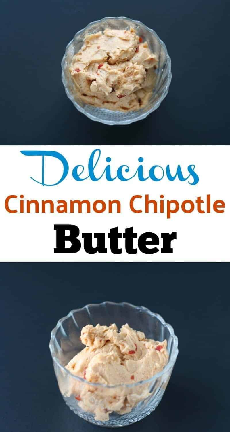Quick and easy recipe to make cinnamon chipotle butter bursting with sweet and smoky flavors. A great addition to your low carb dishes.