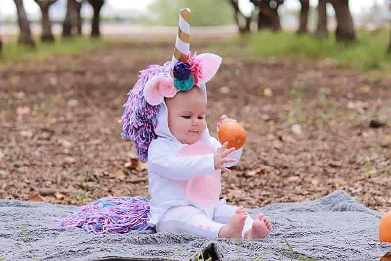 baby unicorn Halloween creative Halloween Costume for kids