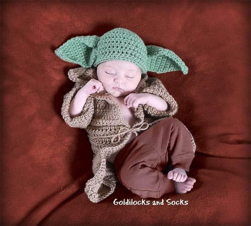 baby Yoda creative Halloween Costume for kids