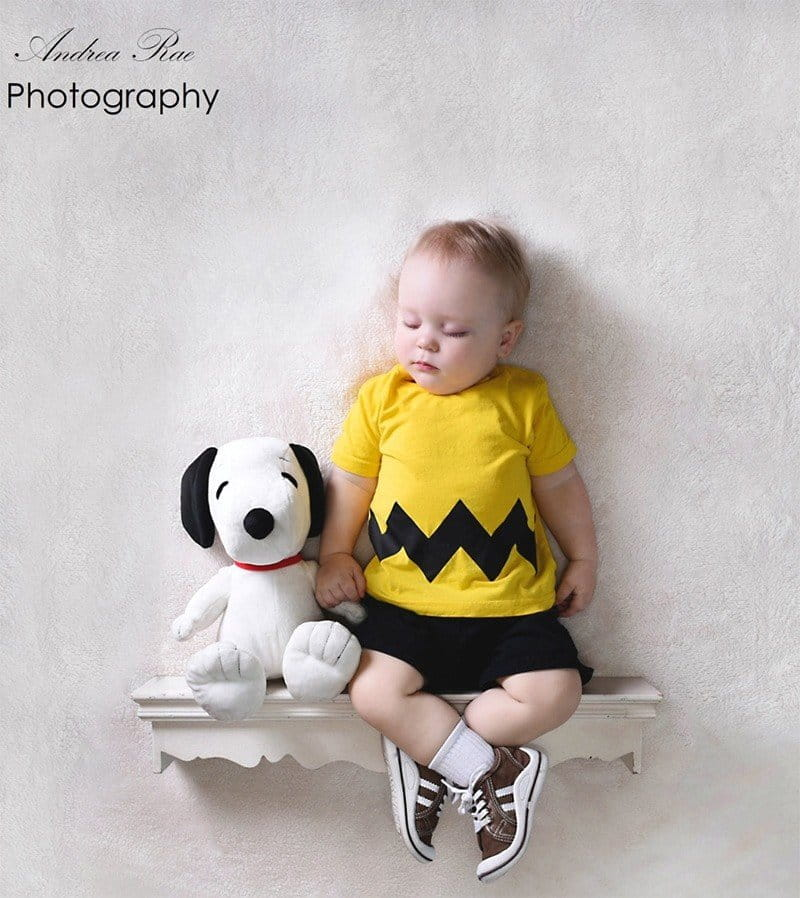 charlie brown zig zag shirt creative halloween costume for kids