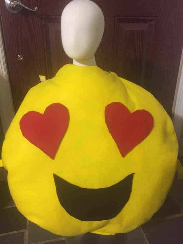 emoji creative Halloween Costume for kids
