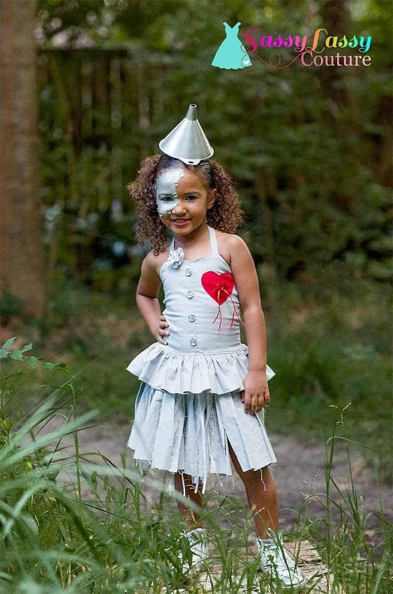 Tin Man creative Halloween Costume for kids
