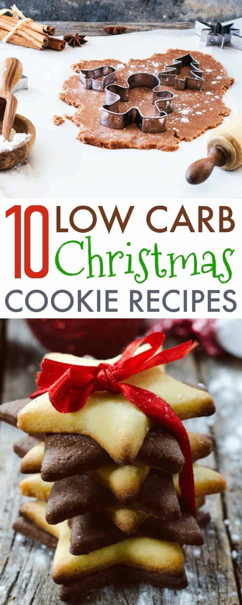 You can enjoy delicious treats for the holidays when you follow a low carb diet, these 10 delicious low carb Christmas cookies recipes are proof of that!