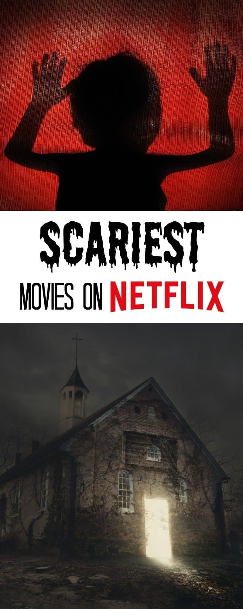 Get ready for Halloween with some of the Scariest Movies on Netflix. Host a viewing party or just curl up alone and try not to scream!