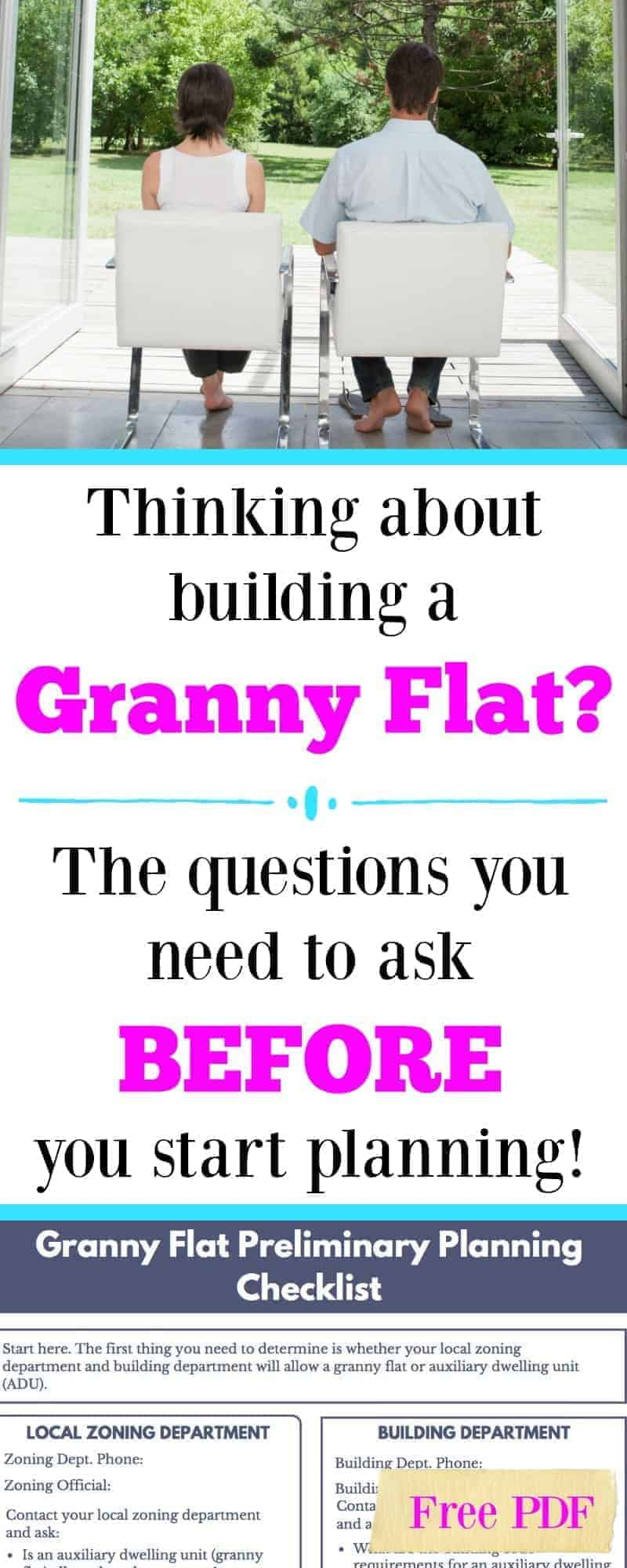 how to go about building a granny flat in caboolture