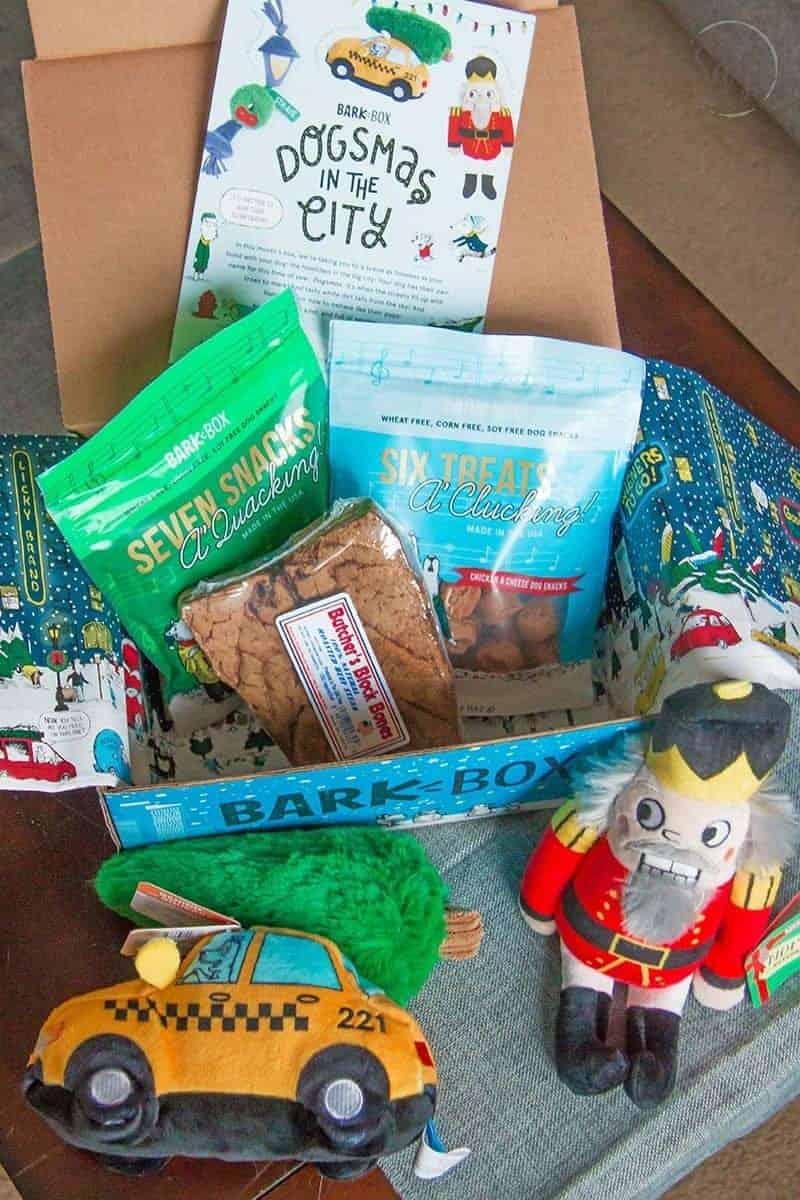 Barkbox contents