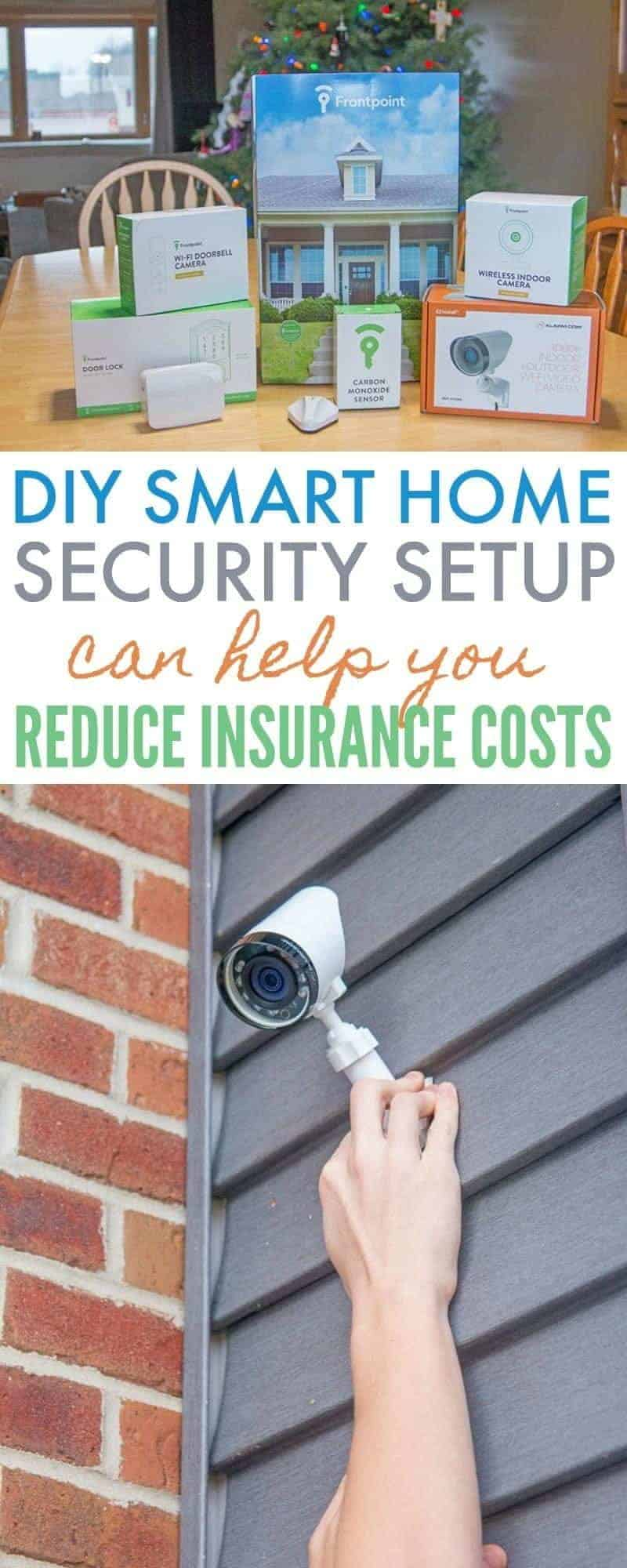 Frontpoint Security Setup - Protect Your Home with American Family Insurance and a smart home security system. Peace of mind and discounts on insurance! DIY setup. #smarthome #homesecurity #technology