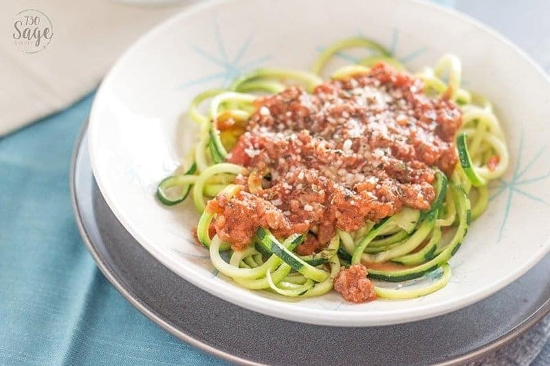 Bolognese Sauce Low Carb Creamy Bolognese With Zucchini