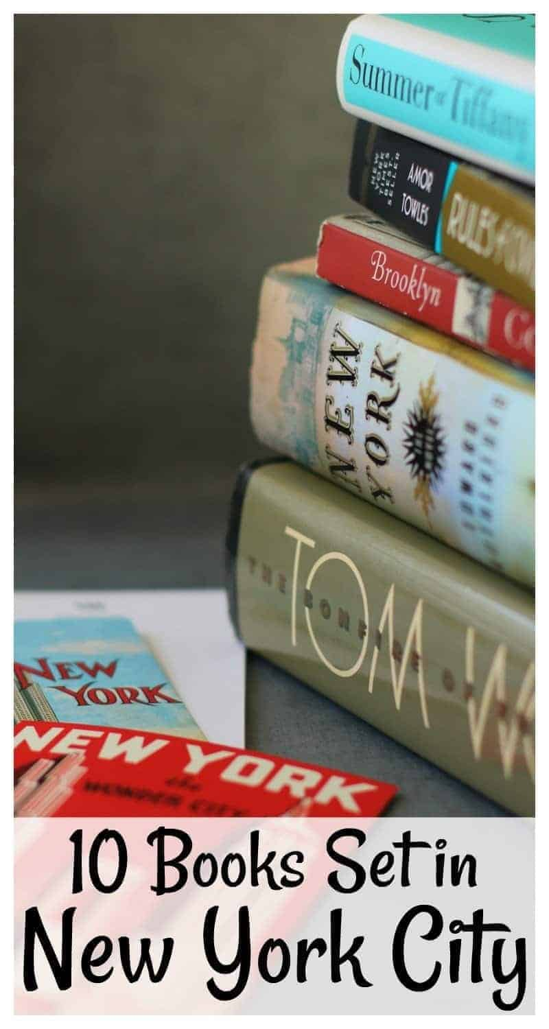 Looking for your next read? Try one of the 10 Books Set in New York City on this list. From The House of Mirth to Rules of Civility, you'll find something you will enjoy!