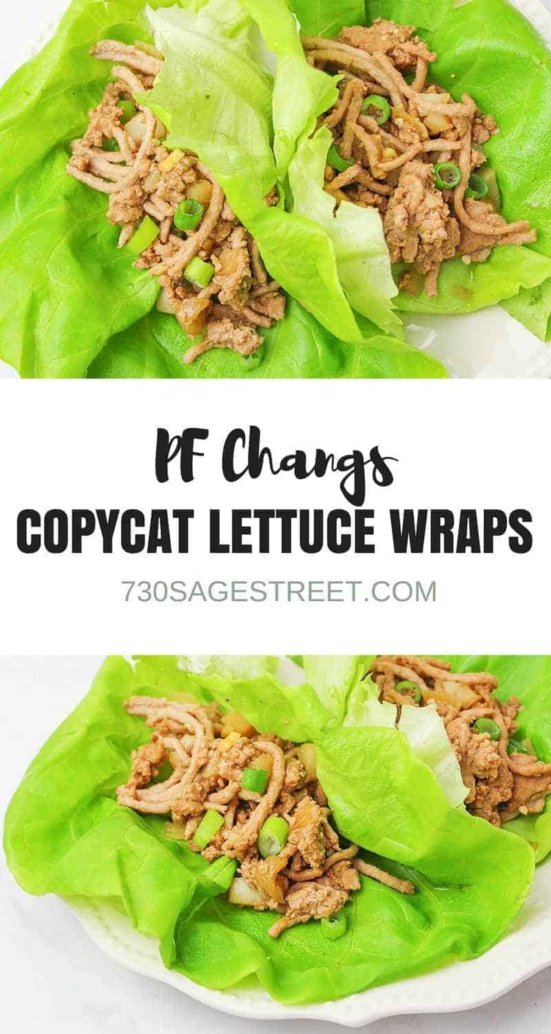 With this PF Changs Lettuce Wraps Copycat Recipe you can have this popular restaurant appetizer at home. Quick and easy to make! #copycat #healthy #easy