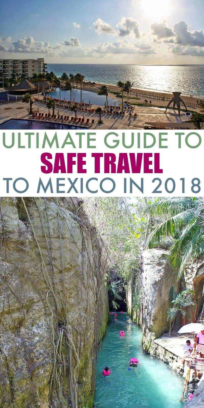 collage of two scenic Mexico photos