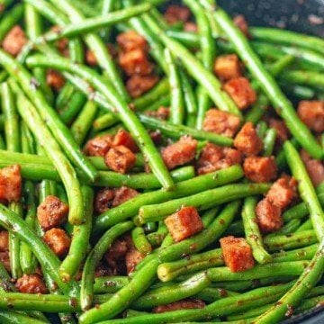 ham and green beans 1