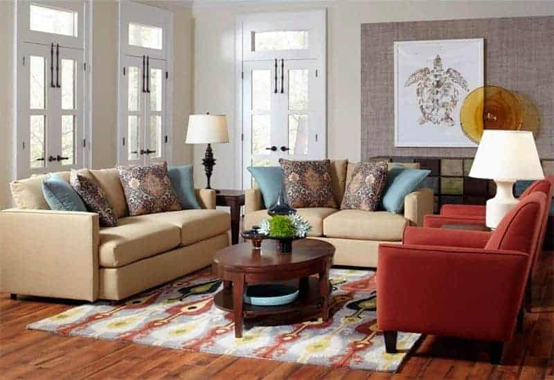 Cort Furniture Rental living room traditional