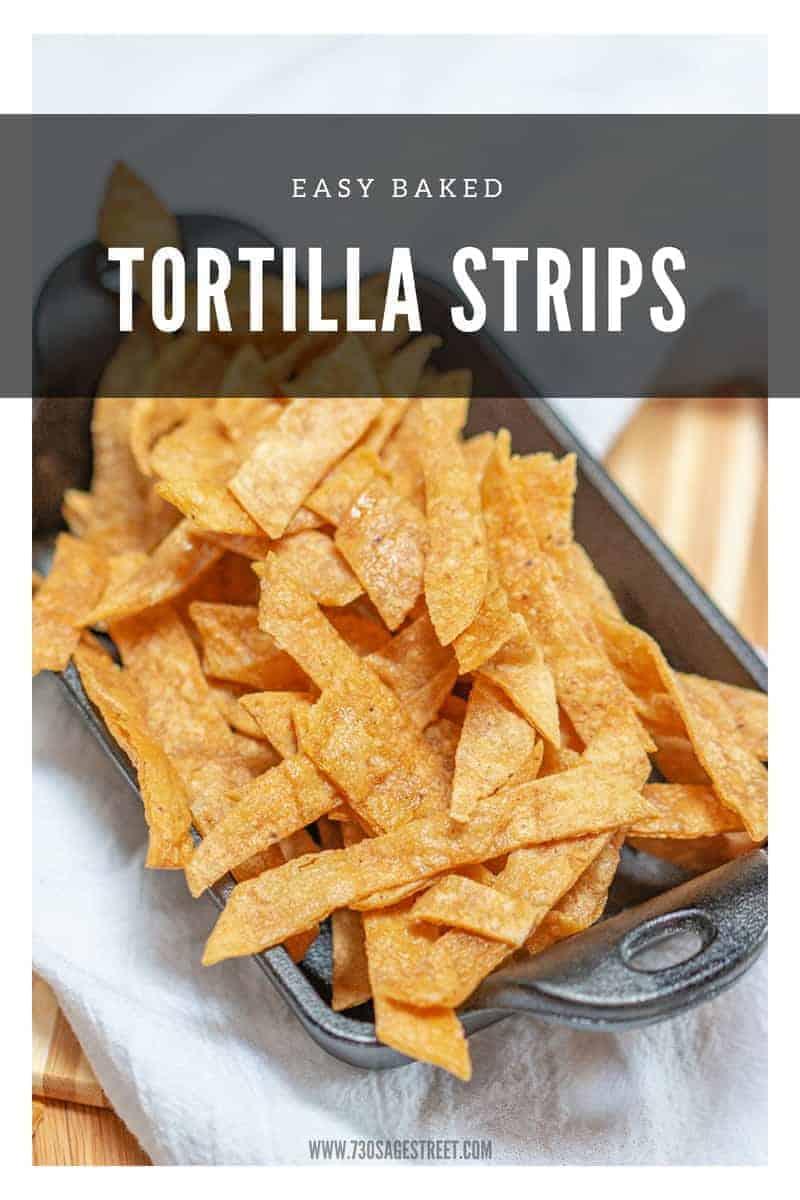 tortilla strips baked