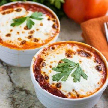 Low Carb Lasagna Bowls 16