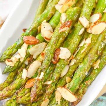 asparagus recipe almondine