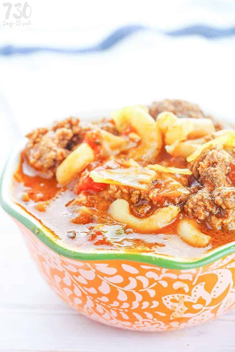 vegan goulash in a bowl