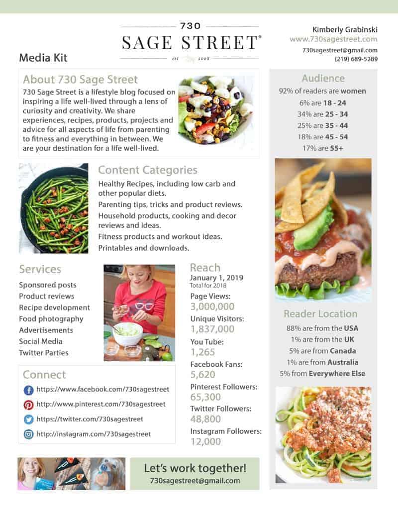 730 Sage Street Media Kit