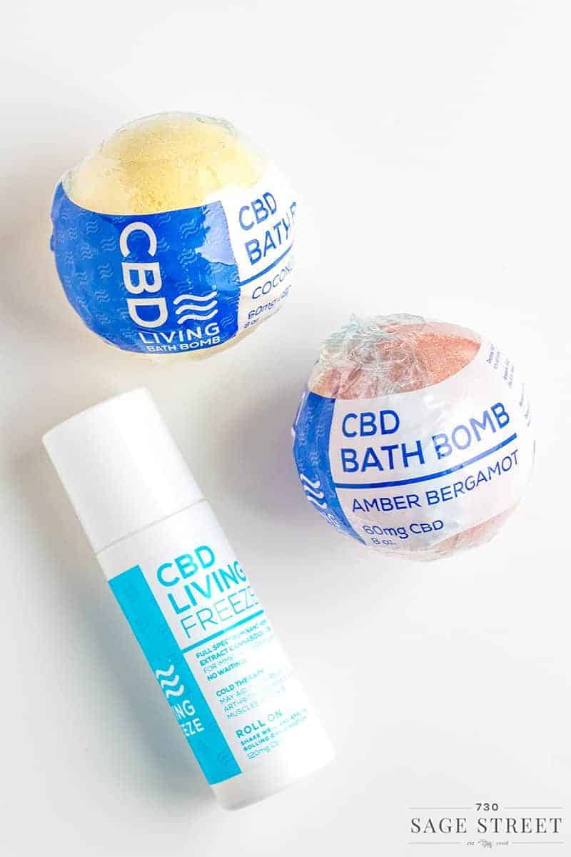 CBD Living Topical CBD Oil Products