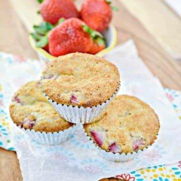 Decadent Keto Strawberry Muffins 13