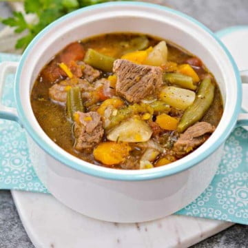 Savory Low Carb Beef Stew 15