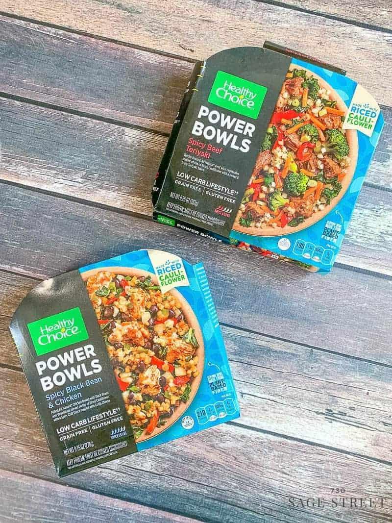 Healthy Choice Grain Free Power Bowls