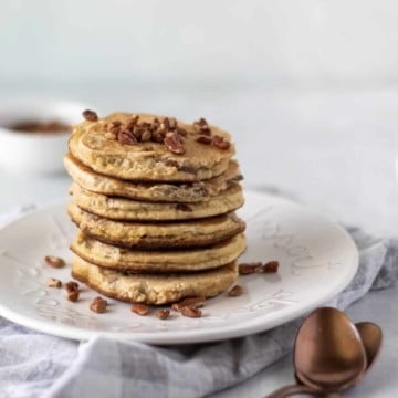 stacked keto pancakes scaled