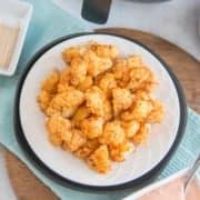 Air fryer Cauliflower featured